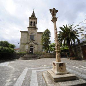 Iglesia maside foto Carballiño